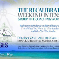 &quote;The Recalibration&quote; Workshop Goes to San Diego