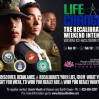The RECALIBRATION Weekend Intensive - U.S. Veterans Co-Facilitator Training - Feb. 2017